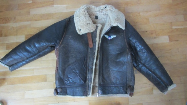 Aeroleather B-3 jacket – vintage size 38 full view front