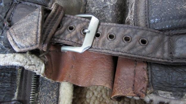 Aeroleather B-3 jacket – side fasteners