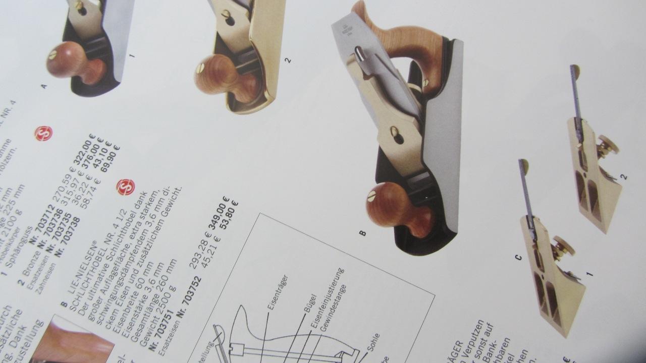 4 Lie-Nielsen/® Schlichthobel Nr Bronze