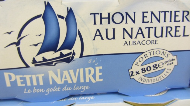 food packaging design france - petit navire