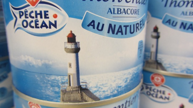 food packaging design france peche ocean