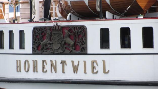 hohentwiel schaufelraddamper - paddlewheeler bodensee - logo