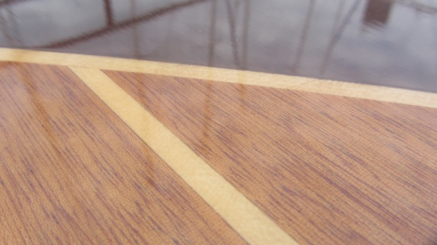 Pedrazzini Mahagoni Boat - woodwork