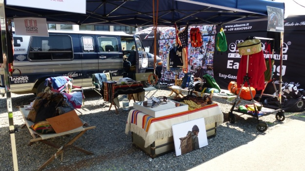 overall view of the amtraq outdoor fair 2012 setup with tanner goods, topo design and dehen