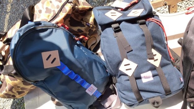 amtraq outdoor fair 2012 topo design backpacks