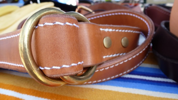 amtraq outdoor fair 2012, tanner goods belt
