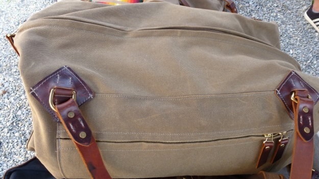 amtraq outdoor fair 2012 tanner goods canvas bag