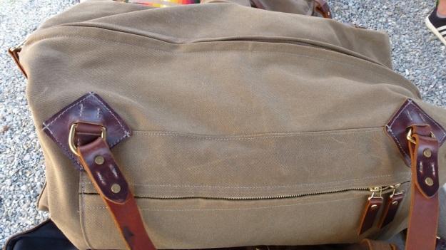 amtraq outdoor fair 2012 tanner goods canvas bag