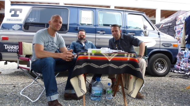 amtraq outdoor fair 2012 a photo with uwe and alex