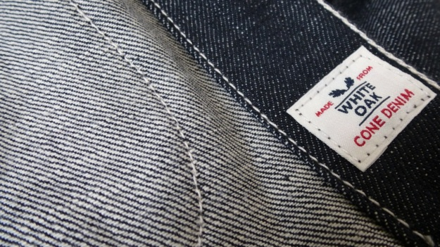 Denim Chore Coat by Tellason as workwear - Cone Mills White Oak Denim
