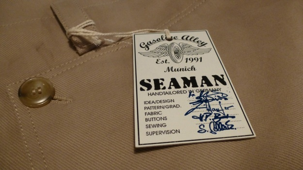 gasoline alley seaman trouser handtailored in germany signatures of the craftsmen