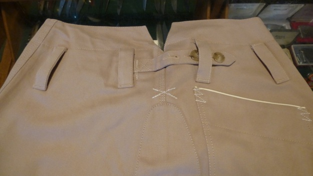 gasoline alley seaman trouser handtailored in germany - full view backside