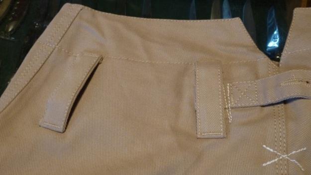 gasoline alley seaman trouser handtailored in germany backside left side