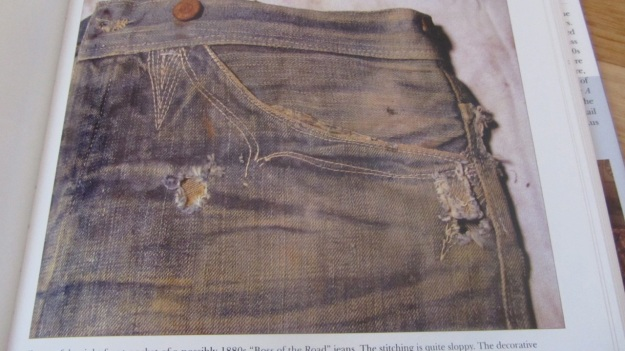 jeans of the old west a history by michael allen harris jeans pockets