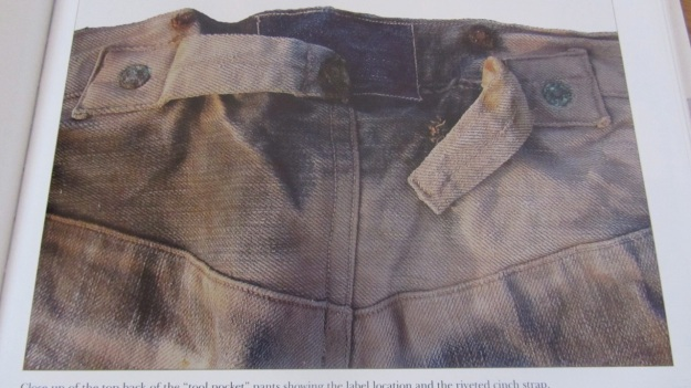 jeans of the old west a history by michael allen harris jeans clinch back