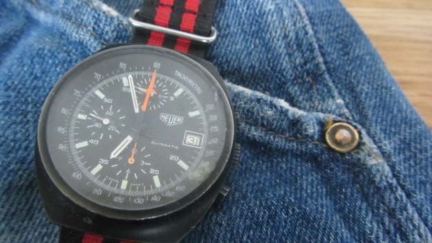 Stuff that works at work - Heuer watch with nato strap