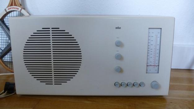 Braun RT 20 Radio front