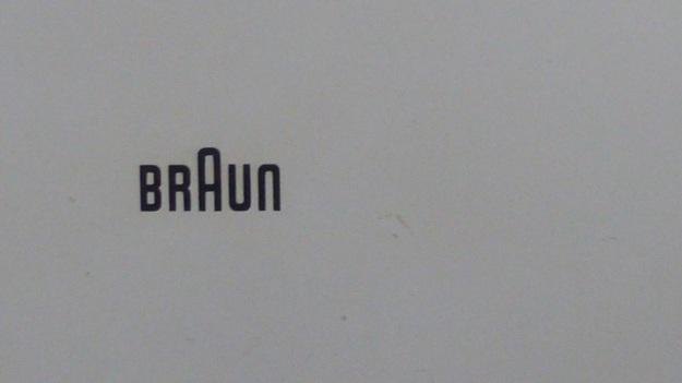 Braun RT 20 Radio - logo dieter rams