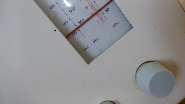 Braun RT 20 Radio - frequency dials
