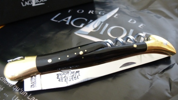 happy birthday mom - forge de laguiole knife closed
