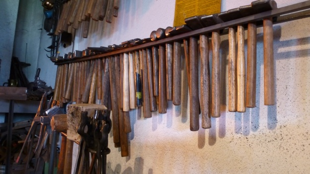 Learn to forge with mastersmith Tom Carstens - blacksmith hammers