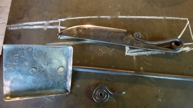 Learn to forge with mastersmith Tom Carstens - final products