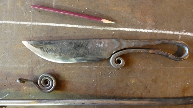 Learn to forge with mastersmith Tom Carstens - knife avb