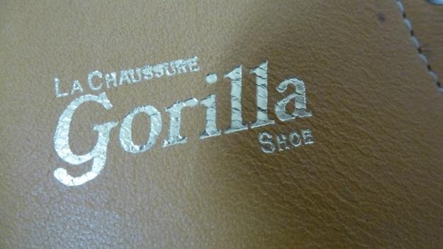Gorilla shoe la chaussure - made in canada logo