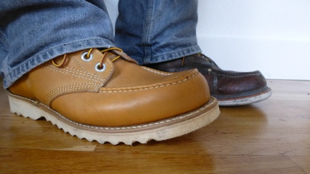 Gorilla shoe la chaussure - made in canada and thorogood boot