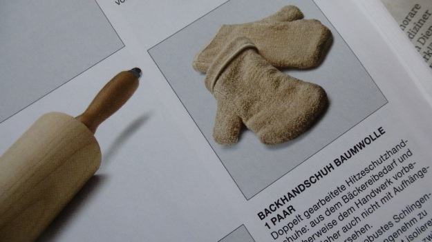 Manufactum Nr. 25 Summer 2012 personal highlights - baking gloves