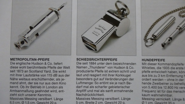 Manufactum Nr. 25 Summer 2012 personal highlights - whistles