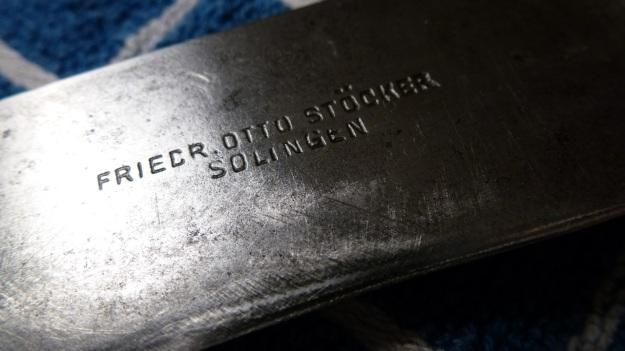 pimped an rusty old kitchen knife - Friedrich Otto Stöcker Solingen