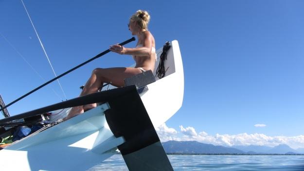sailing canting keel carbon sailboat