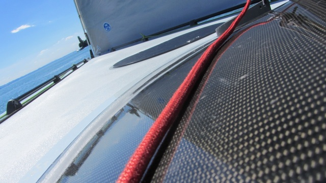 sailing carbon and ropes