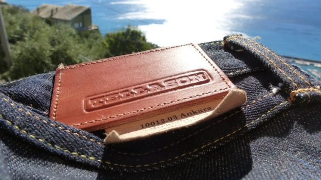Tellason Ankara Jeans - tanner goods leather patch