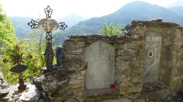Valle Maira - Cemetery great view