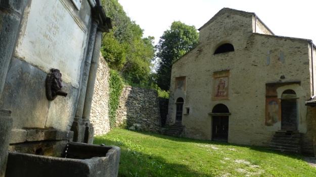 San Constanzo al Monte church Valle Maira