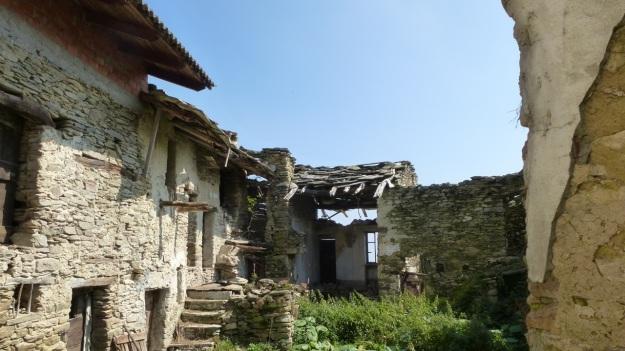 Valle Maira, Maira Tal, Maira Valley ruins