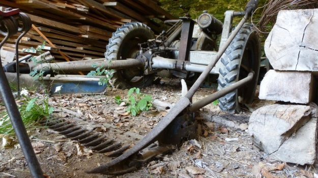 Valle Maira, Maira Tal, Maira Valley old tractor