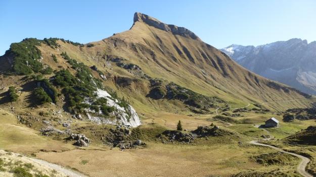 Biberacher Hütte - Schröcken hiking panorama