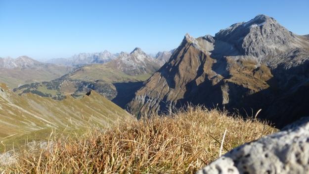 Biberacher Hütte - Schröcken hiking distant view mountains panorama