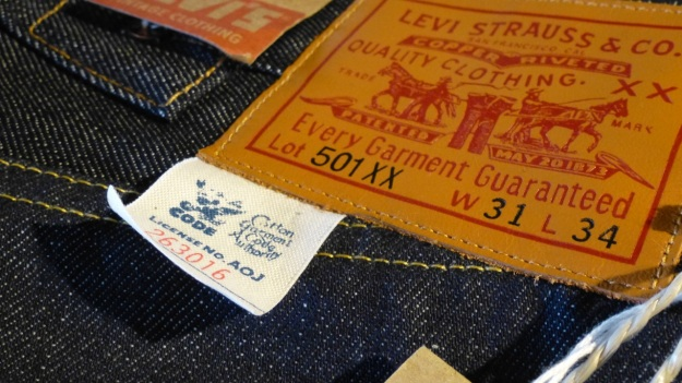 Ecke32 Manufacture Store Konstanz - lvc levis vintage clothing 501z leather patch