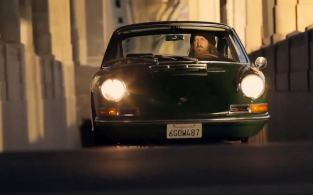 Magnus Walker green Porsche 911
