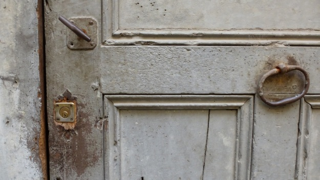 old doors in italy, cuneo province saluzzo