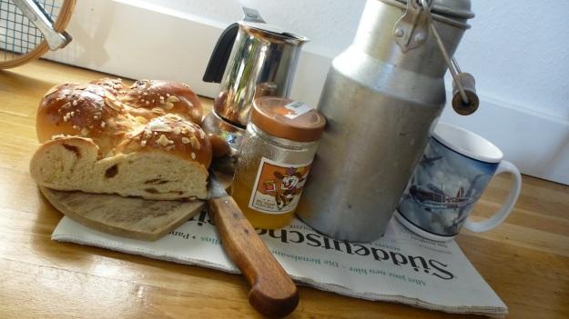 Saturday morning breakfast with Süddeutsche Zeitung