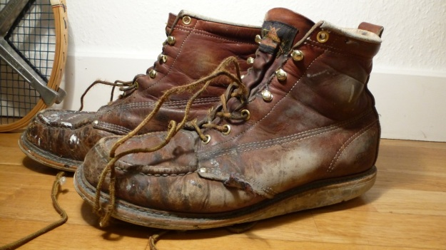 Thorogood Work American Hertitage Moc toe boot 6 wedges non safety