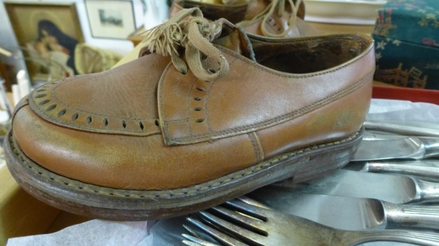 ventilator dornbirn vintage stuff shop kids old leather shoe