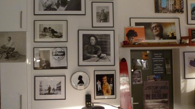 Amtraq Distribution visit - black and white portraits