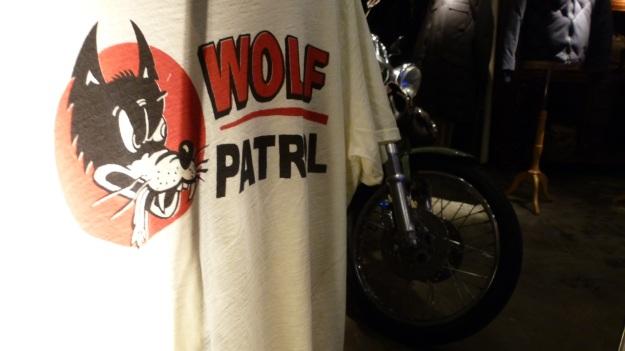 B-74 Frankfurt johnson motors wolf patrol t-shirt