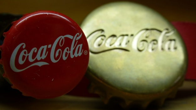 Coca Cola Belt Buckle and Ring bronze belt polished by feinschmuck